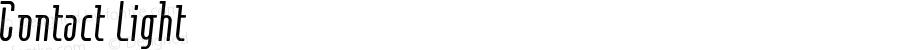 Contact Light Macromedia Fontographer 4.1J 01.1.23