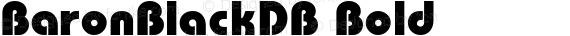 BaronBlackDB Bold preview image