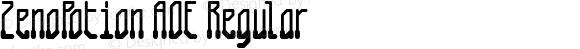 ZenoPotion AOE Regular Macromedia Fontographer 4.1.2 1/8/01