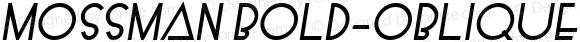Mossman Bold-Oblique