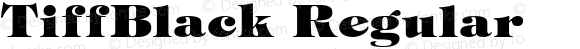 TiffBlack Regular