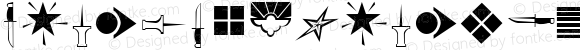 YANGTZEKIANGfont Regular Altsys Fontographer 3.5  3/28/01