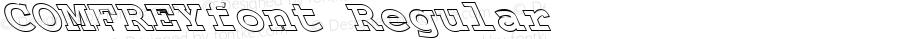COMFREYfont Regular Altsys Fontographer 3.5  3/28/01