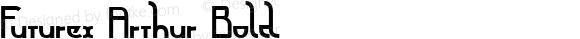 Futurex Arthur Bold Version 1.0; 2001; initial release
