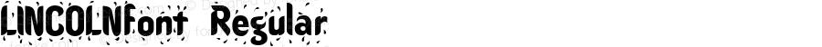 LINCOLNfont Regular Altsys Fontographer 3.5  4/3/01