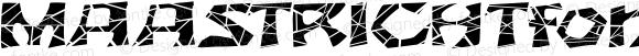 MAASTRICHTfont Regular Altsys Fontographer 3.5  4/3/01