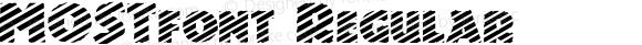MOSTfont Regular Altsys Fontographer 3.5  4/4/01
