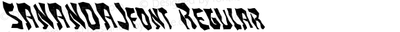 SANANDAJfont Regular Altsys Fontographer 3.5  4/4/01