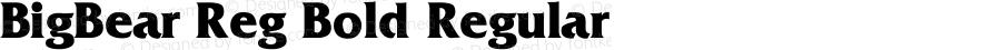 BigBear Reg Bold