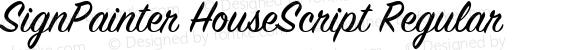 SignPainter HouseScript Regular preview image