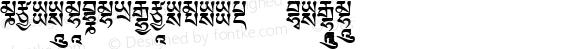 TibetanMachineWeb5 Regular Version 1.0; 2001; initial release