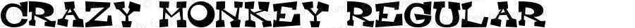 Crazy Monkey Regular Macromedia Fontographer 4.1J 99.8.4