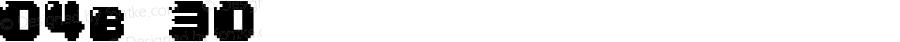 04b 30 Macromedia Fon
