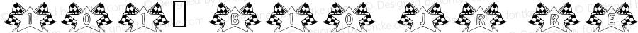101! B10 Jr Regular Macromedia Fontographer 4.1 5/15/01