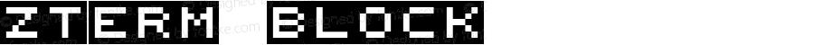 zTerm Block Macromedia Fontographer 4.1.3 05/17/2001