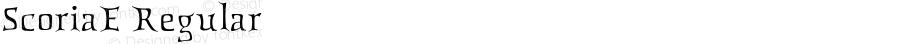 ScoriaE Regular Perry Mason                 17 06 01
