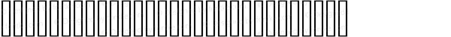 sIDA Code 39 HR Short Regular 3.0  (Visit www.BizFonts.com for Info)