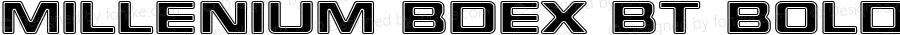Millenium BdEx BT Bold Extended mfgpctt-v4.4 Dec 18 1998