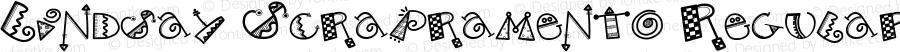 Lindsay Scrapramento Regular Macromedia Fontographer 4.1.5 12/22/99