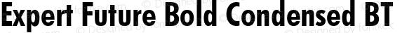Expert Future Bold Condensed BT