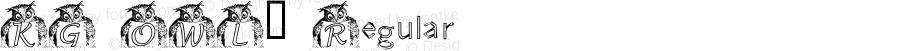 KG OWL2 Regular Macromedia Fontographer 4.1 9/25/2001
