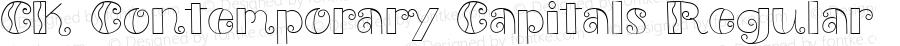 CK Contemporary Capitals Regular 5/25/00
