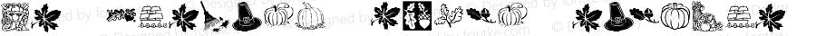 KR Harvest Dings Regular Macromedia Fontographer 4.1 10/18/01