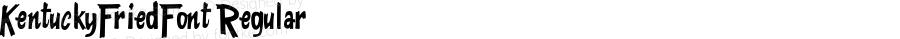 KentuckyFriedFont Regular Macromedia Fontographer 4.1.5 11/3/01