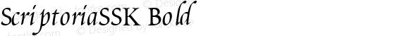 ScriptoriaSSK Bold Altsys Metamorphosis:9/1/94