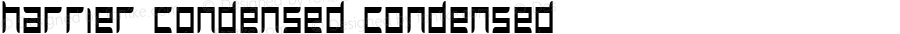 Harrier Condensed