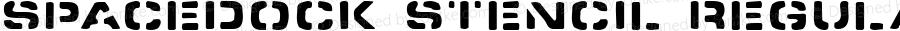Spacedock Stencil