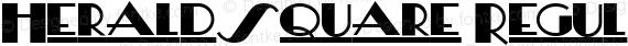 HeraldSquare Regular preview image