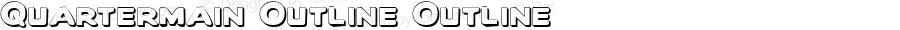 Quartermain Outline Outline 1