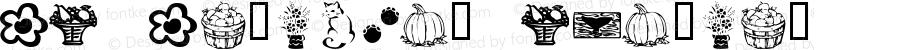 KR Katlings Regular Macromedia Fontographer 4.1 1/23/02