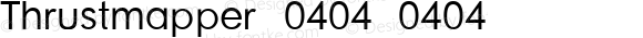 Thrustmapper 0404 0404