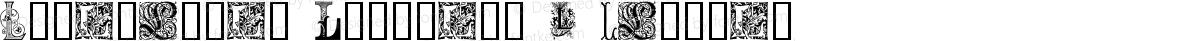 Ornamental Initials L Regular