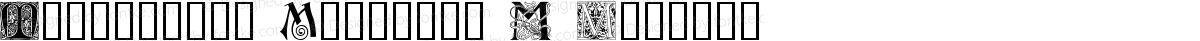 Ornamental Initials M Regular