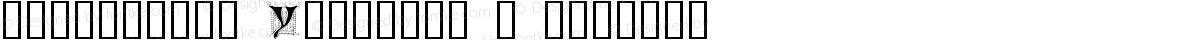 Ornamental Initials Y Regular
