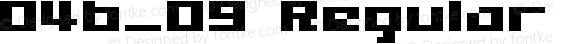 04b_09 Regular Macromedia Fon