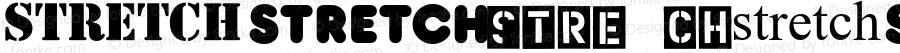 Stretch Regular Macromedia Fontographer 4.1.3 3/18/02
