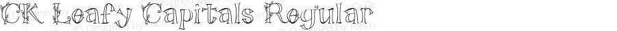 CK Leafy Capitals Regular 5/26/00