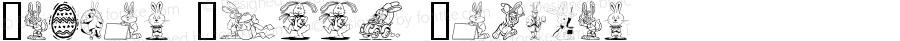 Easter Hoppy Regular Macromedia Fontographer 4.1 2002-03-24