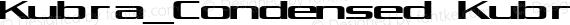 Kubra_Condensed Kubra_Condensed preview image