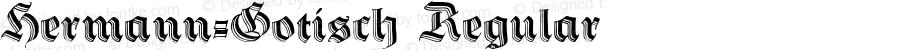 Hermann-Gotisch Regular Version 1.0; 2002; initial release