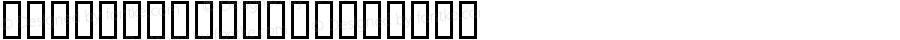 BDGalaQuadra Regular Macromedia Fontographer 4.1.2 25.8.1999