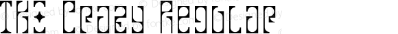 TKO Crazy Regular Macromedia Fontographer 4.1J 02.6.14