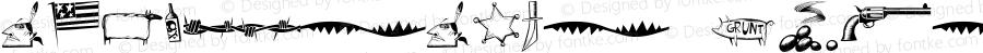 WayOutWest Critters Macromedia Fontographer 4.1 2/17/2002