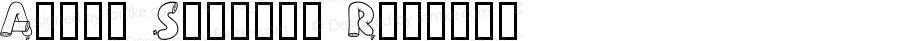 Alpha Sausage Regular Macromedia Fontographer 4.1 2002-08-13