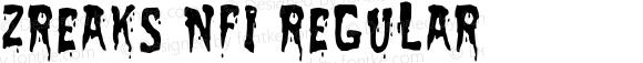 Zreaks NFI Regular OTF 1.100;PS 001.001;Core 1.0.29
