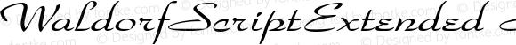 WaldorfScriptExtended Regular